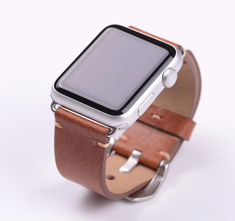 Anhem Apple Watch Leather Band
