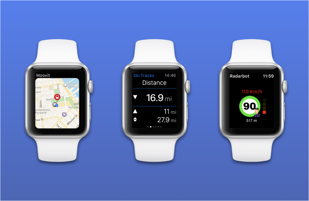 Navigation apps Apple Watch
